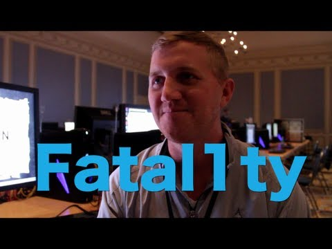 "QuakeCon'13: Johnathan ""Fatal1ty"" Wendel"